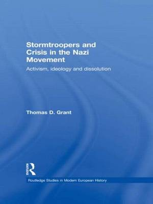 Stormtroopers and Crisis in the Nazi Movement book