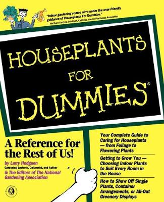 Houseplants For Dummies by Larry Hodgson