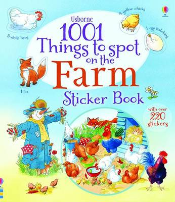 1001 Things to Spot on the Farm Sticker Book by Gillian Doherty