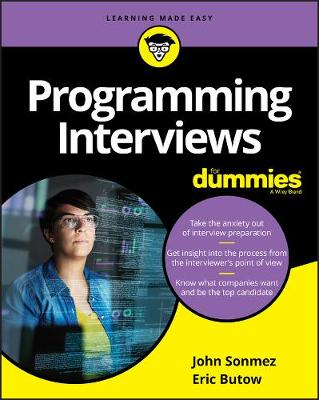 Programming Interviews For Dummies book