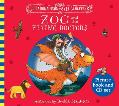 Zog and the Flying Doctors Book and CD by Julia Donaldson