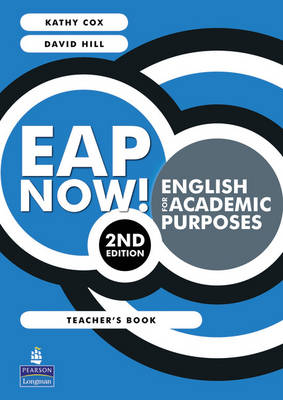 EAP Now! English for academic purposes Teachers book by Kathy Cox