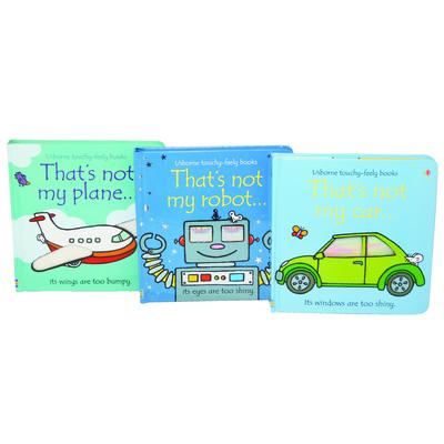 That's not my Boxset - Robot, Car, Plane by Fiona Watt