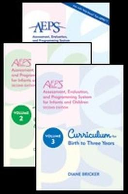 Assessment, Evaluation, and Programming System for Infants and Children (AEPS (R)) by Diane Bricker