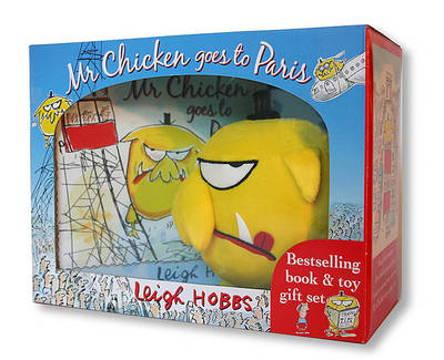 Mr Chicken Goes to Paris Book and Toy Gift Set by Leigh Hobbs