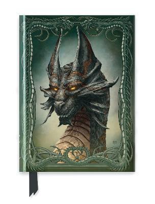 Beyit: Black Dragon (Foiled Journal) by Flame Tree Studio