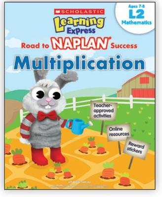 Learning Express NAPLAN: Multiplication L2 book