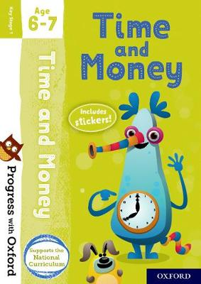 Progress with Oxford: Time and Money Age 6-7 book