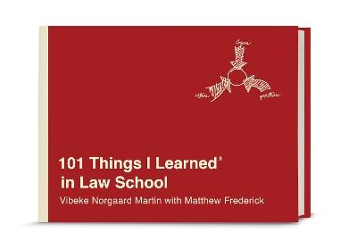 101 Things I Learned in Law School by Vibeke Norgaard Martin