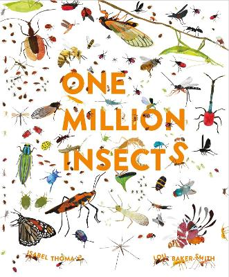 One Million Insects book