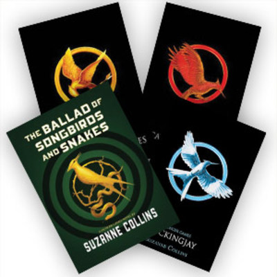 Hunger Games Set of 4 by null