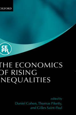 Economics of Rising Inequalities by Daniel Cohen