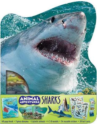 Animal Adventures: Sharks by Cynthia Stierle
