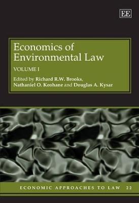 Economics of Environmental Law by Douglas A. Kysar