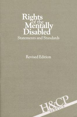 Rights of the Mentally Disabled book