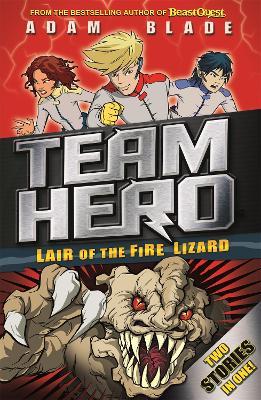 Team Hero: Lair of the Fire Lizard book