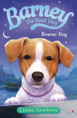 Barney Boat Dog, Rescue Dog by Linda Newbery