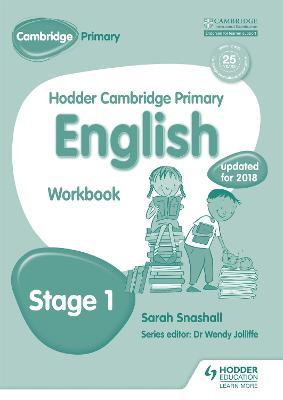 Hodder Cambridge Primary English: Work Book Stage 1 book