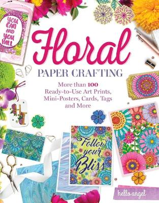 Hello Angel Floral Papercrafting book