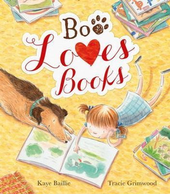 Boo Loves Books by Kaye Baillie