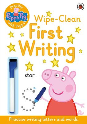 Peppa Pig: Practise with Peppa: Wipe-Clean First Writing book
