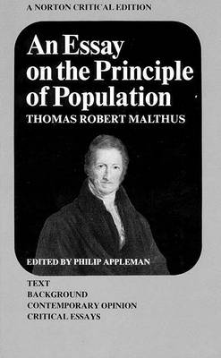 An Essay on the Principle of Population by T. R. Malthus
