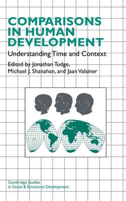 Comparisons in Human Development by Jonathan Tudge