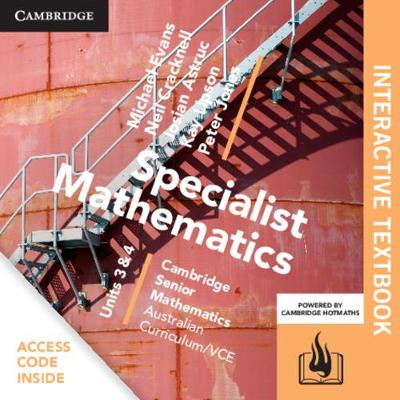 CSM VCE Specialist Mathematics Units 3 and 4 Digital (Card) by Michael Evans