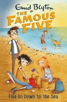 Famous Five: Five Go Down To The Sea by Enid Blyton