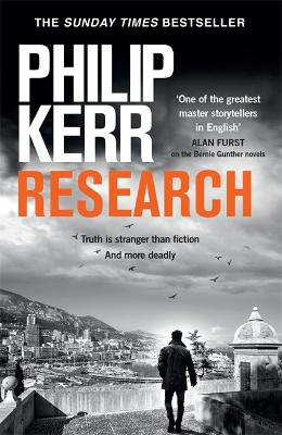 Research: A dark and witty thriller from the creator of the prize-winning Bernie Gunther novels book