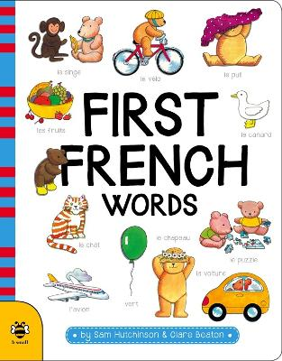 First French Words book