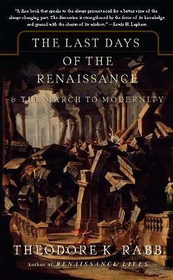 Last Days of the Renaissance book