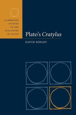 Plato's Cratylus book