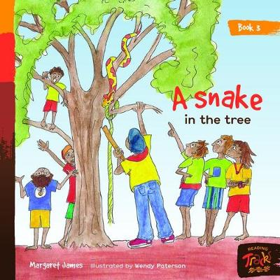 Book 3 - A Snake In The Tree: Reading Tracks by Margaret James and Illustrated by Wendy Paterson