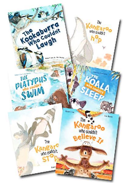The Kangaroo  - Set of 5 Books by Robert Cox