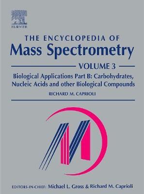 Encyclopedia of Mass Spectrometry book