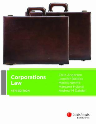 Corporations Law by Colin Anderson