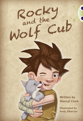 Rocky and the Wolf Cub BC Lime A/3C Rocky and the Wolf Cub Lime A / NC 3C by Sherryl Clark