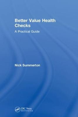Better Value Health Checks book