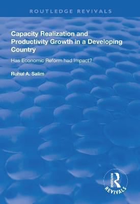 Capacity Realization and Productivity Growth in a Developing Country: Has Economic Reform Had Impact? book
