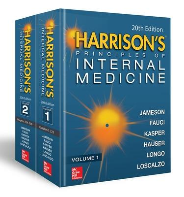 Harrison's Principles of Internal Medicine, Twentieth Edition (Vol.1 & Vol.2) by J. Larry Jameson