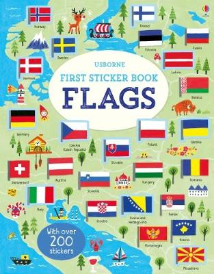 First Sticker Book Flags by Holly Bathie