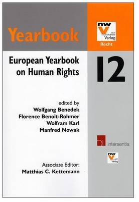 European Yearbook on Human Rights 12 by Wolfgang Benedek
