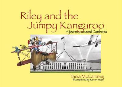 Riley and the Jumpy Kangaroo by Tania McCartney