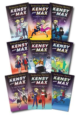 Kensy and Max: Set of 6 Books by Jacqueline Harvey