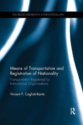 Means of Transportation and Registration of Nationality by Vincent P. Cogliati-Bantz