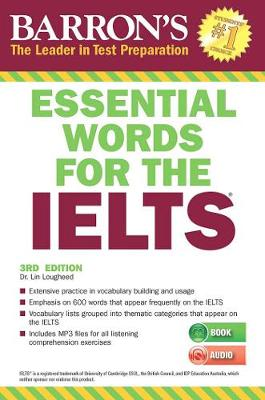 Essential Words for the IELTS with MP3 CD by Linda Lougheed