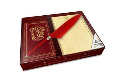 Harry Potter: Gryffindor Desktop Stationery Set (with Pen) by Insight Editions