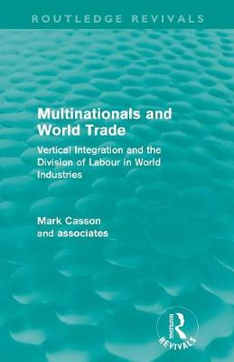 Multinationals and World Trade book