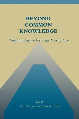 Beyond Common Knowledge by Erik G. Jensen